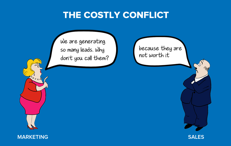 """The Marketing & Sales Leads Conflict on """"What is a Lead?"""""""